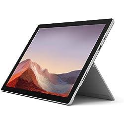 Surface Pro 7 PC Hybride Microsoft 12.3 Platine (Intel Core i5, 8 Go de RAM, 128 Go de SSD)