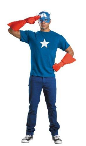 Captain America Kit Adult (Captain America Erwachsene Kit)