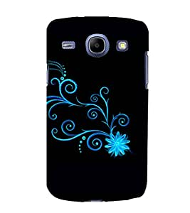 printtech Floral Pattern Wine Back Case Cover for Samsung Galaxy Core i8262::Samsung Galaxy Core i8260