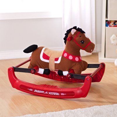 Radio Flyer Soft Rock and Bounce Pony with Sound by Radio Flyer TOY (English Manual)