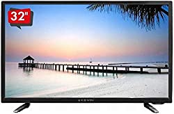 "32"" HD Ready Kevin LED Television with A+grade Samsung Display Panel. Resolution 1366x768 pixels, Eco Vision, Power Audio. 178/178 degree wide viewing. Cinema Mode. Connectivity - Input: HDMI*2 USB*2, PC*1, AV*2, RF*1. HRDP Technology. Total Sound Ou..."