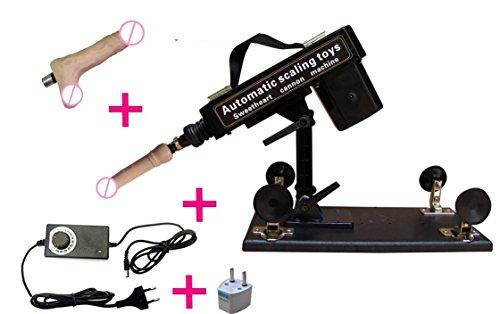 Fickmaschine Glückliche Standard Sex-Maschine Automatische Love Sex-Maschinengewehr mit Dildo , 3 Hubtiefen, frei einstellbar. Schwere standfeste Ausführung! Enorme Kraft schon im untersten Stoßbereich! Ein Echt Hochmoderner Freudenspender für Frauen von Likeep ! (Fickmaschin für Frau)