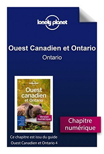 Descargar Libro Ouest Canadien et Ontario 4 - Ontario de LONELY PLANET