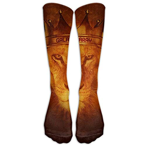 Ethiopia Lion of Judah Rastafarian Reggae Crown Outdoor Athletic Long High Sock Stocking 50cm ()