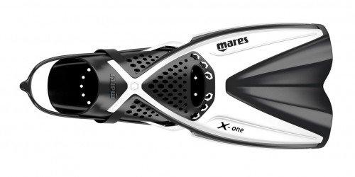 Mares Erwachsene Flossen Fins X-ONE, Weiß, L/XL, 410337