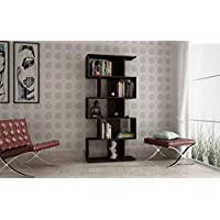 Brv Moveis Book Shelf with Open Shelves, Brown