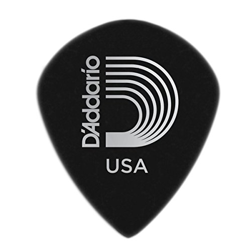 Planet Waves 3DBK4-10 Picks Black Ice Picks 10 Picks Jazz Shape in Medium - 10 Black Ice