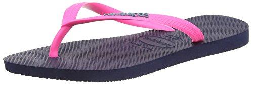 havaianas-hav-slim-logo-tongs-femme-bleu-blue-pink-5557-33-34