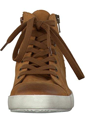 Tamaris Leder Sneaker Braun 1-26285-27 455 Cuoio Cuoio