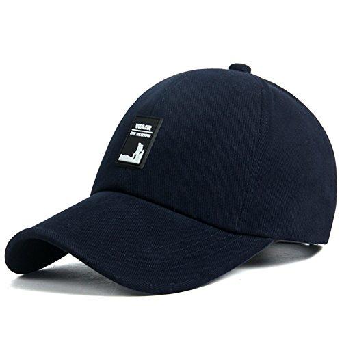Hat Männer/Herbst Outdoor-Sport-Baseballmütze/Freizeit Cap/ Männer im mittleren Alter Hut dad/ Swab Kappe-D One Size