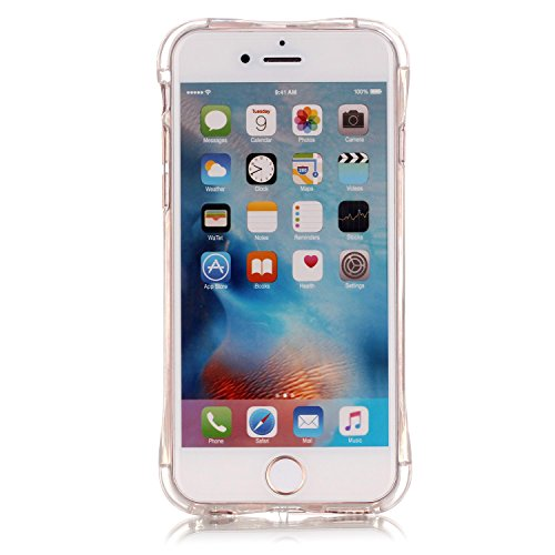 "Coque iPhone 6s, MOONCASE iPhone 6 Etui Ultra Mince Coque Housse Silicone Parfait Cover Case avec Absorption de Choc pour iPhone 6 (2014) / 6s (2015) 4.7"" - YX04 Série de diamants - YX09"