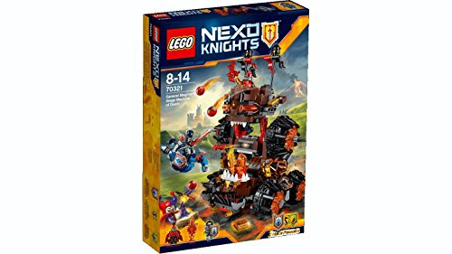 LEGO 70321 Nexo Knights General Magmar Siege Machine of Doom Construction Set - Multi-Coloured
