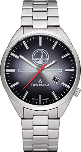 TUW Ruhla Interkosmos 60740-021101 Herrenarmbanduhr Design Highlight