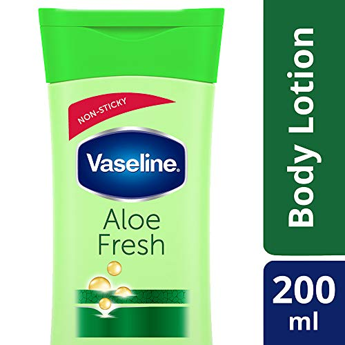 Vaseline Intensive Care Aloe Fresh Body Lotion, 200 ml