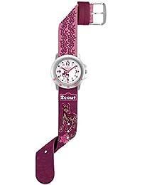 Scout Mädchen-Armbanduhr Analog Quarz Kunstleder 280393025