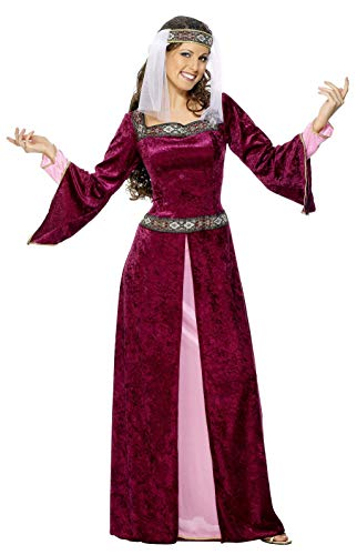 SMIFFYS Costume Carnevale Halloween Lady Marion Di Robin Hood Film - Sexy Donna