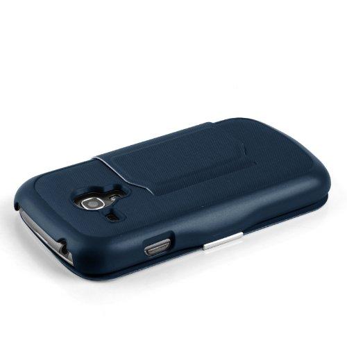 JAMMYLIZARD | Fenster Flip Case Hülle für iPhone 6 & 6s 4.7 Zoll, GRÜN BLAU