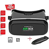 Augmento AXE With Controller VR Virtual Reality Box | 3D Glass Box | Headmounted Kit Adjustable Plastic Headset |With 360 Degree Panoramic View |Suitable For 4-6 Inch Smartphones | Premium IMAX 3D Cinema Immersive Gaming Experience| 2017 Hot Selling Brand