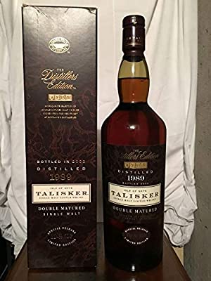 Talisker 1989 Double Matured The Distillers Edition Limited Edition with case 1L
