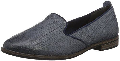 Tamaris Damen 24209 Slipper, Blau (Navy Structure 855), 37 EU