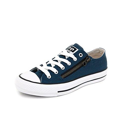Les chaussures de toile d'automne/ plat-basse coupe/Casual tirette respirant chaussures B