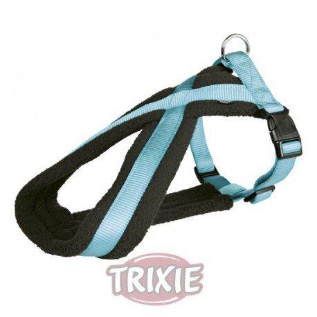 Artikelbild: Trixie 20385 Premium Geschirr, S-M: 40-60 cm/25 mm, beige