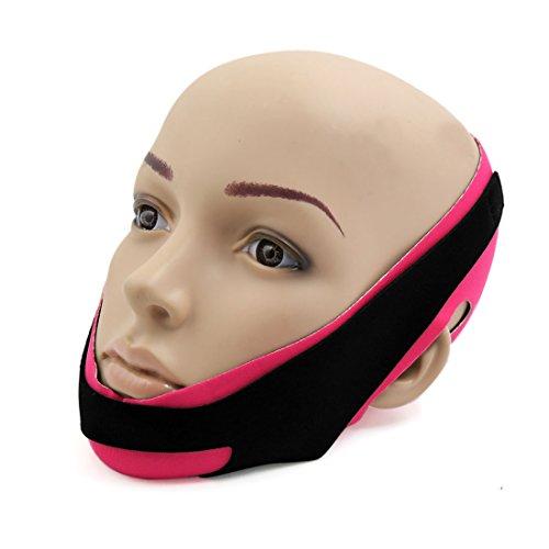 sourcingmap® halb Gesicht Maske Gesicht schön Haut Verschärfen Former Wange gestalten Band