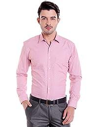 Donear NXG Mens Formal Shirt_SHIRT-C110-RED