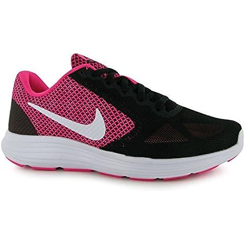 Nike Revolution 3Zapatillas de running para mujer, color rosa/blanco/negro Run zapatillas zapatillas, Pink/White/Black, (UK6) (EU40) (US8.5)