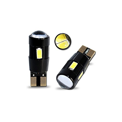 T10C6WL - Blanca de Canbus SMD LED lámpara bombilla de repuesto luces...