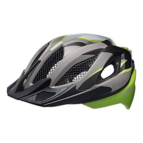KED Spiri Two Helmet Green Black matt Kopfumfang L | 55-61cm 2019 Fahrradhelm