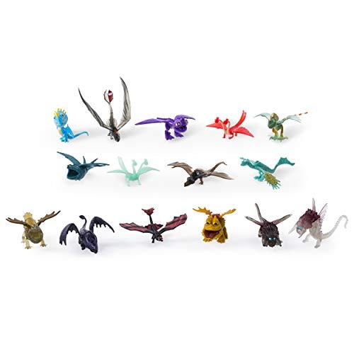 Spin Master 6027505  -  DreamWorks Dragons  -  Battle Dragon 15 Pack (Figuren Drachen)