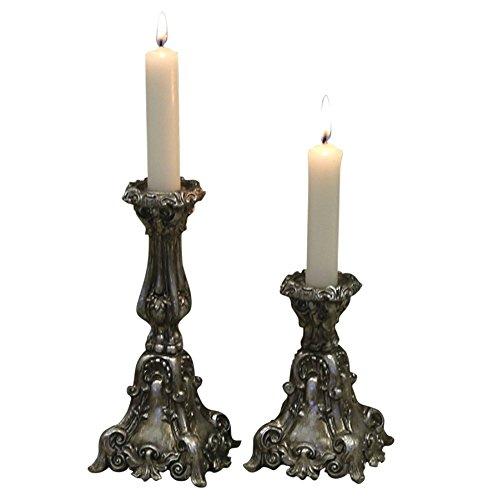 Kerzenständer Kerzenhalter 12 cm hoch klein Deko Landhaus Nostalgie Vintage French Chic Antique