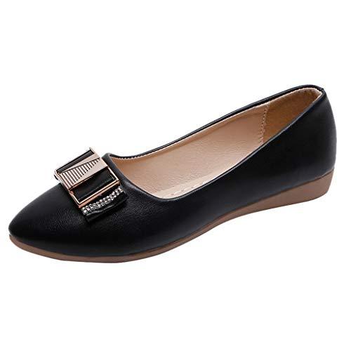LILICAT_Schuhe Mode Prom Schuhe Flache Schuhe Wies Einzelne Schuhe Einfarbig Lässig Schuhe Elegante Damenschuhe Lässig Elegant Party Schuhe Flach Spitzschuh Slip OnLow Heels Schuhe