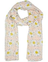 f9d9f5a28df8 Tonsee®® Lady Femmes Longue Imprimer mignon de fleur de marguerite châle  écharpe enveloppe souple