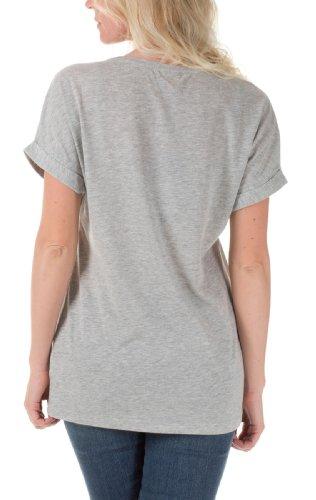 Only Damen Print T-Shirts MICKEY VINTAGE SS TOP BOX JRS White