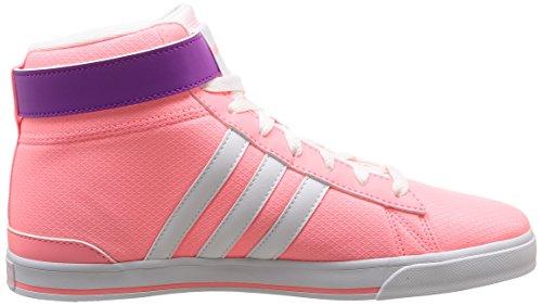 Adidas F97741, Basket-ball Femme Multicolore (Ltflre/Ftwwht/Flapnk)