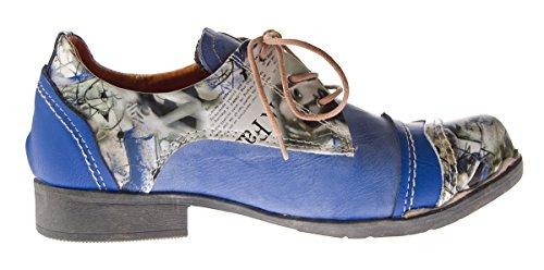 Tma - Chaussures À Lacets Bleues Classiques Pour Femmes (bleu)