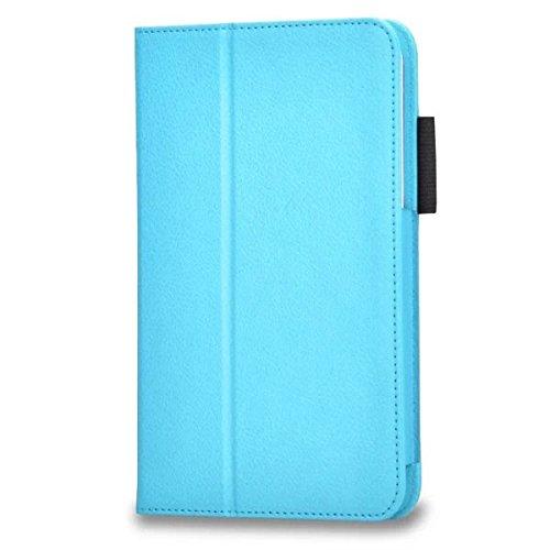 Slim Smart Hülle Kompatibel mit Samsung Galaxy Tab 3 Lite 7.0 - PU Leder Flip Cover Case Schutzhülle Schale für Samsung Galaxy Tab 3 7.0 Lite T110 T111 (7 Zoll) Hülle Ledertasche mit Standfunktion