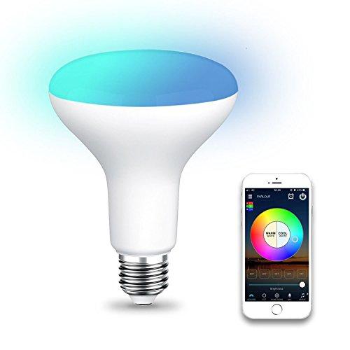 Flutlicht Br30 Glühbirne (Gaoominy WiFi BR30 LED Flood Gluehbirne, Tunable White & Farbwechsel Smart Flood Gluehbirne, Kompatibel mit Alexa & Home Assistant)