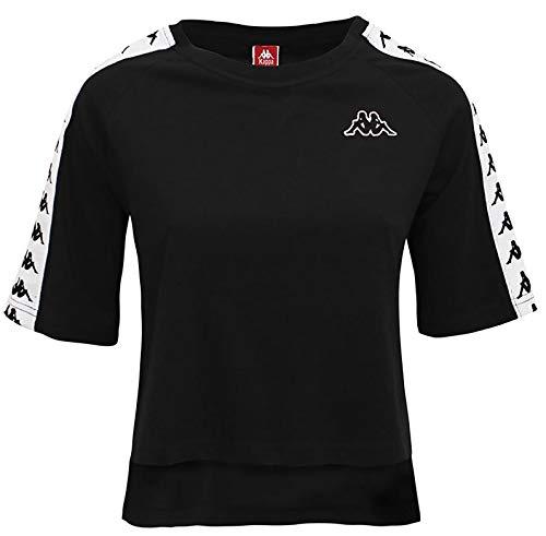 Kappa T-Shirt Donna 222 Banda Avant 3031WQ0.921 (M - 921 Black)