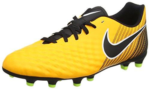 Nike Magista Ola II FG, Botas de fútbol para Hombre, Naranja (Laser Orange/Black Volt/White), 43 EU