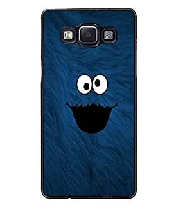 PrintDhaba cute smilie D-1141 Back Case Cover for SAMSUNG GALAXY E5 (Multi-Coloured)