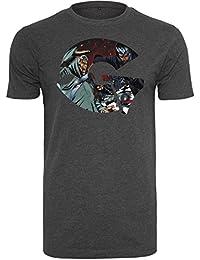 Wu-Wear Hip Hop Shirt - GZA Art charcoal