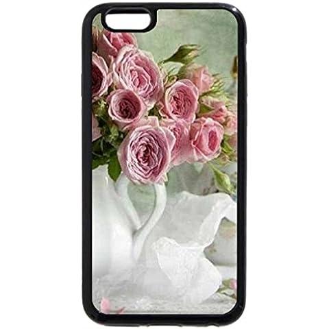 iPhone 6S Plus Funda, iPhone 6Plus, diseño de rosas & Tea Time