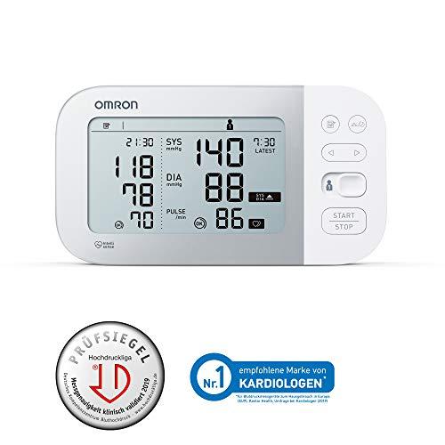 OMRON Healthcare X7 Smart Monitor de Tensión Arterial,  Con Manguito Inteligente,  Bluetooth y AFIB