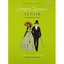 Siempre Zarzuela Tenor Book & CD