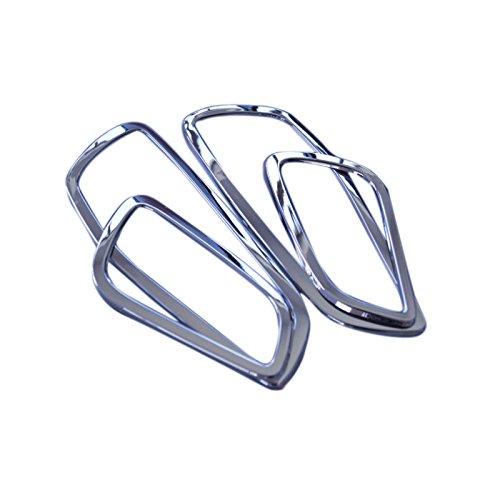 Preisvergleich Produktbild ABS-Kunststoff Interieur Türverkleidung Türgriff Abdeckleiste 4 Stück für Kuga 2013-2017