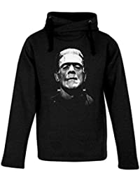 Top Fashion Quality Clothing Adult Frankenstein's Monster Heavyweight Hooded Sweatshirt