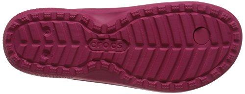 Crocs Classic Flip Ciabatte, Unisex Adulto Rosso (Raspberry)